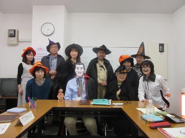 協議会主催の語学教室開講中のイメージ